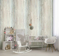 Colorful Wood Peel and Stick Wallpaper Self-Adhesive Decor Contact Paper Film 3D