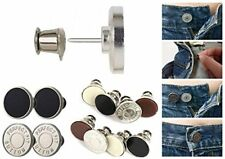 Pants Button Extender Set Pack of 4 Different Colour Tight Jeans Skirts Trousers