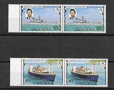 L4775 Anguilla  SILVER JUBILEE ROYAL VISIT CHARLES 1977 NAVIGATION BOAT SHIP
