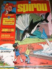 Spirou N° 1986 1976 Sophie Jacques Le Gall Les petits hommes Agent 212 Jidéhem