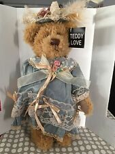 "Rare Teddy Love Collectors Edition ""Patricia"" New Collectable"