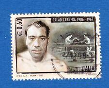 Italia 2007 Carnera sport boxe boxers usato used