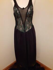 Womens  Victoria's Secret Long Sexy Nightgown  Lingerie Sleepwear  Size Small