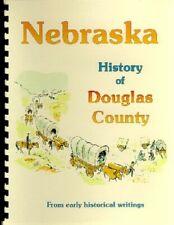 Douglas County Nebraska 1882 History Omaha NE WRA Guide excerpt New reprint!