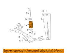 Scion TOYOTA OEM 04-06 xB Rear Suspension-Coil Spring 4823152640