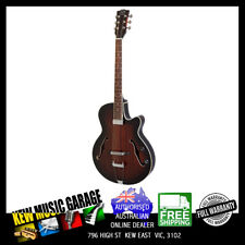 J&D LUTHIERS ARCHTOP HOLLOW BODY ELECTRIC GUITAR WITH CUTAWAY