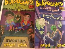 2019 Los Angeles Comic Con Exclusive 2 Issues Blastosaurs Signed