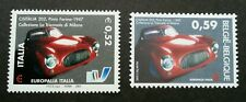 Italy Belgium Joint Issue Europalia 2003 Car Transport Vehicle (stamp pair) MNH
