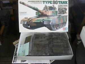 TAMIYA #89564 1/35 TYPE 90 JAPANESE MBT