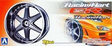 19 Zoll Racing Hart Type CR Felgen & Reifen 1:24 Model Kit Wheel Aoshima 010044