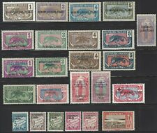 Ubangi-Shari,  Nice assortment of 24 different mint stamps