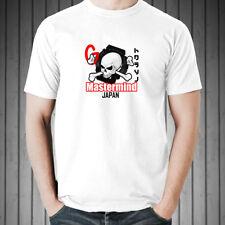 MASTERMIND JAPAN G shock men black white t-shirt 100% cotton graphic tee