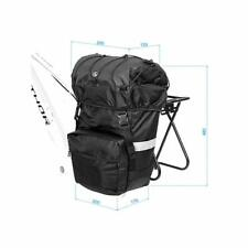 Author bicycle side pannier carrier bag  A-N417 20 liter Nylon black raincover