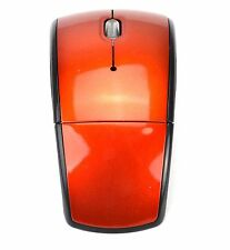 Orange 2.4G Wireless Arc Folding Optical Mouse Mice For Microsoft Pc Laptop