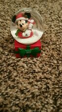 Collectible Disney Christmas Mickey Mouse Snow Globe dated 2013