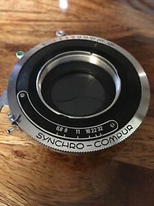 Synchro Compur 1 Large Format Shutter