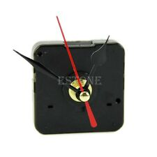 Red & Black Quartz Wall Clock Movement Mechanism Repair Tool Kit Hand DIY
