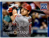 2019 Topps Update SHOHEI OHTANI 150 Years Players BLUE Parallel Angels #150-38
