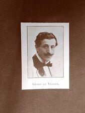 Guido da Verona o Guido Verona Poeta Saliceto Panaro, 1881 – Milano, 1939