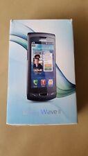 Samsung Wave II GT-S8530 Ebony Gray mit 4GB SD und Zubehörpaket SIMLOCK frei