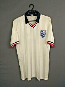 England Jersey XL Retro Replica Shirt Mens Football Camiseta Trikot Tro ig93