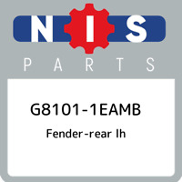 G8101-1EAMB Nissan Fender-rear lh G81011EAMB, New Genuine OEM Part