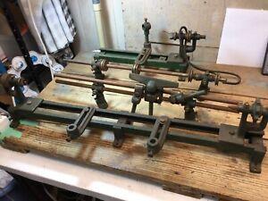 Antique Walker-Turner The Driver Wood Lathe Cast Iron Vintage Tool 1930's USA