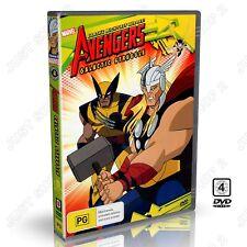 The Avengers Galactic Struggle : Marvel Superhero Animation : New DVD