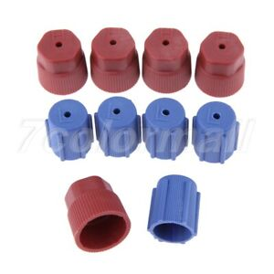 10X R134a AC Caps 13mm & 16mm Air Conditioning Service AC System Charging Port