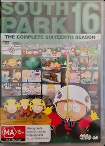 South Park : Season 16 (DVD, 2014, 3-Disc Set)