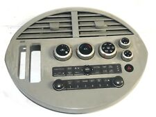 2004 - 2006 Nissan Quest Climate Audio Control Unit Bezel Vents 27500-5Z010 OEM