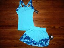 Women's Slazenger Turquoise Tennis Top & Skirt Set Size XS-NWT