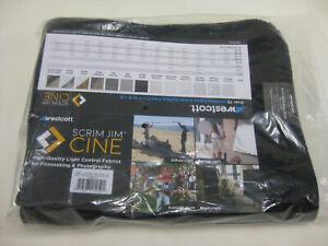 Westcott Scrim Jim CINE 4' x 6' Solid Black Block Fabric #1996
