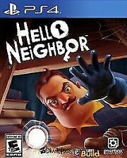 Hello Neighbor (Sony PlayStation 4, PS4 2018) Excellent And Mint Condition