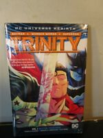 Trinity HC Vol 1 Better Together (Rebirth) by Francis Manapul Hardcover Sealed~