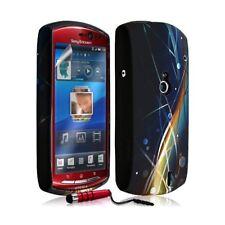 Housse Coque Étui En Gel Pour Sony Ericsson Xperia Kyno Avec Motif + Stylet + Fi