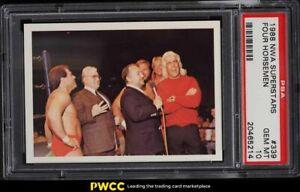 1988 Wonderama NWA Wrestling Superstars Four Horsemen, Ric Flair #339 PSA 10 GEM