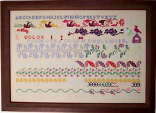 DOROTEA COLON 1882 Sampler Cross Stitch CHART Wild Heart NEW