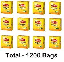 Lipton Yellow Label Tea Turkish Black Tea, High Quality (Pack of 12) 1200 Bags