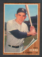 1962 Topps YOGI BERRA #360 Yankees *EXCELLENT-MINT*