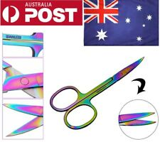 Nail Scissors Surgical Eyebrow Manicure Chameleon small dressing Curved Pedicure