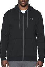Under Armour Rival Fleece Mens Fitted Running Hoody - Black