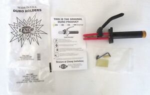 USA MADE Lenco Duro 250 Amp Stinger Welding Electrode Holder INSULATED 1/0 Cable