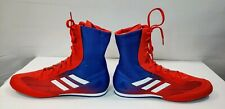 NEW Adidas Box Hog Plus Boxing Shoes Men's 11 DA9896 MMA Ring Sparring Boots Red