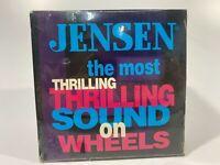 JENSEN--The Most Thrilling Sound On Wheels--Sampler CD--1993-- BRAND NEW! SEALED
