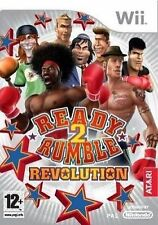 Ready 2 Rumble Revolution Nintendo Wii 12 Fighting Boxing Game