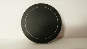 RARE CLEAN BLACK METAL 55MM SCREW IN ON LENS CAP COVER -USA SELLER-FAST SHIPPING