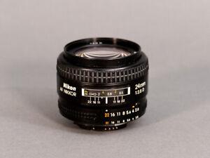 Nikon Nikkor AF 24mm f:2.8 lens