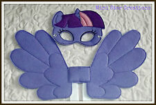Handmade Mask and Large Wings Set - Twilight Sparkle  - My Little Pony