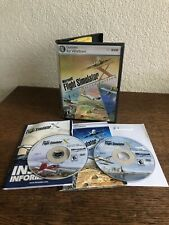 PC Microsoft Flight Simulator X Deluxe Edition 2 Disc Manual CD Key Inside Case
